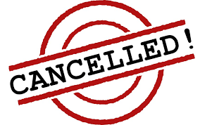 Image result for competition cancelled